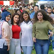 London,England,UK : 10th July 2016 : Lebanese community celebrate Lebanese Festival Day 2016 promote Lebanese culture food with music and dances at Paddington Green, London. Photo by See Li