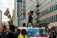 Imarn Ayton Black Lives Matter peaceful protesters march through londn to parliament square  London 20 june 2020 photo by Mark Anton Smith