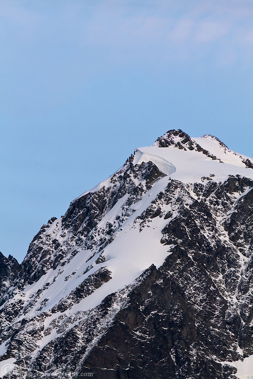 The North Shoulder of Mount Shuksan from Heather Meadows in the Mount Baker Wilderness, Washington State, USA