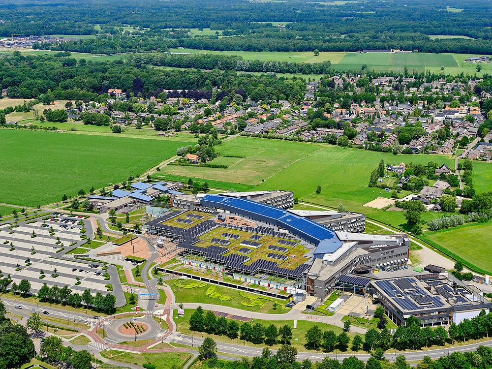 Nederland, Overijssel, Deventer, 21–06-2020; DZ, Deventer Ziekenhuis.<br /> General hospital city Deventer.<br /> <br /> luchtfoto (toeslag op standaard tarieven);<br /> aerial photo (additional fee required)<br /> copyright © 2020 foto/photo Siebe Swart