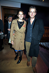TRACEY EMIN and SCOTT DOUGLAS at the Lighthouse Gala Charity Auction in aid of the Terrence Higgins Trust held at Christie's, St.James' London on 23rd March 2009.