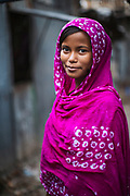 Young woman in the Adabar District of Dhaka