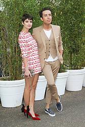© London News Pictures. 26/06/2013. London, UK. Nick Grimshaw and Pixie Geldof, at  The Serpentine Gallery summer party, Kensington Gardens London UK, 26 June 2013, Photo credit: Richard Goldschmidt/LNP
