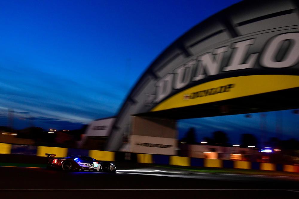 #67 Ford Chip Ganassi Racing Ford GT: Andy Priaulx, Harry Tincknell, Tony Kanaan<br /> Saturday 16 June 2018<br /> 24 Hours of Le Mans<br /> 2018 24 Hours of Le Mans<br /> Circuit de la Sarthe WI FR<br /> World Copyright: Scott R LePage