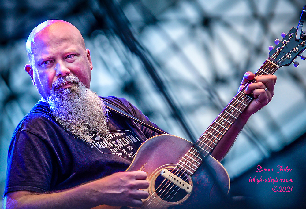 Kendell Marvel performs on Wind Creek Steel Stage on August 9, 2021. Shinedown and Kendell Marvel play at Musikfest on August 9, 2021. Musikfest, a festival of ArtsQuest, is held August 6 –15, 2021 in Bethlehem, Pa..