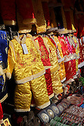 China, Beijing, Traditional clothes on display