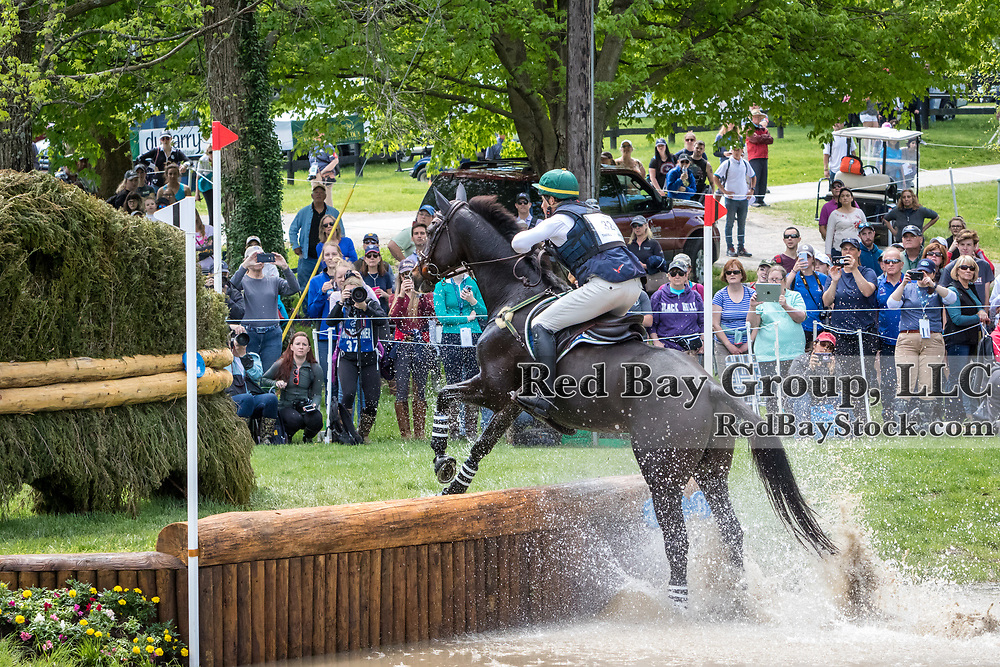 Marcelo Tosi (BRA) and Glenfly during the cross-country at the 2019 Land Rover Kentucky Three-Day Event presented by MARS EQUESTRIAN in Lexington, Kentucky