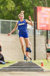 Maine State Track & Field Meet, Class B: girls triple jump, Kate Hall, Lake Region