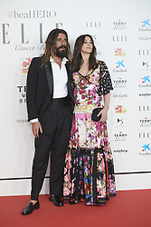 May 30, 2019 - Madrid, Madrid, Spain - Nicolas Lefebvre, Monica Bellucci attends Solidarity gala dinner for CRIS Foundation against Cancer at Intercontinental Hotel on May 30, 2019 in Madrid, Spain (Credit Image: © Jack Abuin/ZUMA Wire)