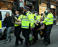 Extinction Rebellion: Impossible Rebellion  protest london photo by Roger Alarcon