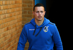 Billy Bodin of Bristol Rovers arrives at The MEMS Priestfield Stadium, home of Gillingham for the Sky Bet League One fixture - Mandatory by-line: Robbie Stephenson/JMP - 16/12/2017 - FOOTBALL - MEMS Priestfield Stadium - Gillingham, England - Gillingham v Bristol Rovers - Sky Bet League One