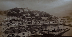 Torquay photographed in 1873 in a book of old photographs to be auctioned at Bonhams. Bonhams, Knightsbridge, London, November 23 2018.