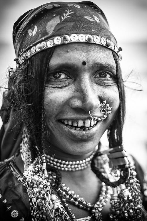 Lambani tribal woman. Photo by Lorenz Berna