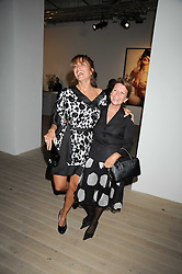 Left to right, REBECCA LOOS and her mother ELIZABETH LOOS at the Quintessentailly Summer Party at the Phillips de Pury Gallery, 9 Howick Place, London on 9th July 2008.<br />
