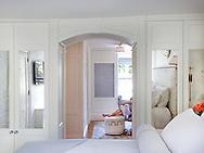 Master Bedroom of Beacon Hill Townhouse.  Designer: Patricia McDonagh Interior Design