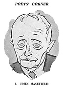 Poets' Corner. 1. John Masefield.