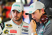 May 10, 2013: NASCAR Southern 500. Jimmie Johnson, Chevrolet, Chad Knaus , Jamey Price / Getty Images 2013 (NOT AVAILABLE FOR EDITORIAL OR COMMERCIAL USE