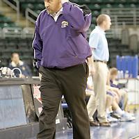 Eureka head coach Craig Kennedy prowls the sideline