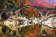 Old ottoman bridge iver Arda river
