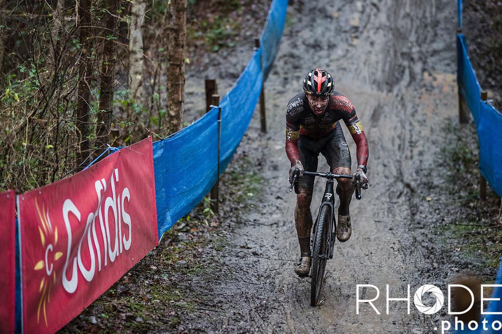 Laurens Sweeck (BEL/Pauwels Sauzen - Bingoal)<br /> <br /> X2O Badkamertrofee Herentals 2020<br /> Men Elite Race<br /> <br /> ©RhodePhotoMedia