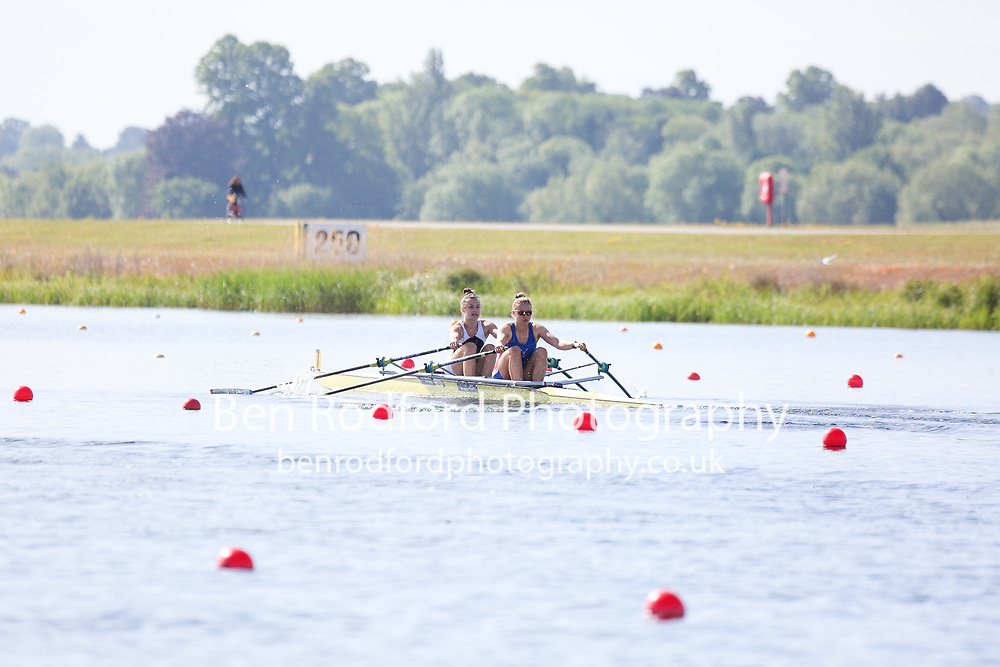Race: 7  Women's Double Sculls - Championship - Heat<br /> <br /> The Metropolitan Regatta 2019<br /> Saturday<br /> <br /> To purchase this photo, or to see pricing information for Prints and Downloads, click the blue 'Add to Cart' button at the top-right of the page.