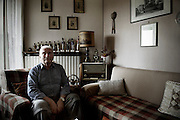 """Monti Franco. Partisan name """"Sip"""". Born in 1930. In the December of the 1944 he joined the partisan rebellion forces that was fighting again the fascist and the nazist. He was assigned to the 2nd Brigate and he fought in the Valle Cervo."""