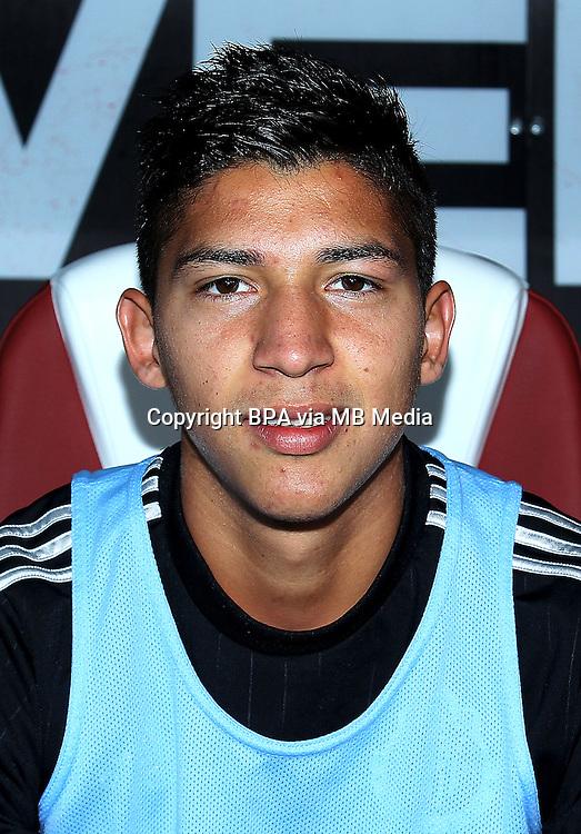 Mexico League - BBVA Bancomer MX 2015-2016 - <br /> Chivas - Club Deportivo Guadalajara / Mexico - <br /> Angel Zaldivar Caviedes