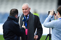 Football - 2018 / 2019 FA Cup - Third Round: Queens Park Rangers vs. Leeds United<br /> <br /> Former Leeds United great Eddie Gray being interviewed before the game, at Loftus Road.<br /> <br /> COLORSPORT/ASHLEY WESTERN