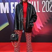 Little Simz attended King Richard | BFI London Film Festival 2021, 15 October 2021 Southbank Centre, Royal Festival Hall, London, UK.