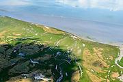 Nederland, Friesland, Ameland, 05-08-2014; Waddenzee met hoog water, gezien vanaf Ameland. Wadden Sea seen from Wadden island Ameland.<br /> luchtfoto (toeslag op standard tarieven);<br /> aerial photo (additional fee required);<br /> copyright foto/photo Siebe Swart