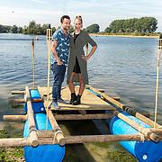 NLD/Maurik/20170904 - Deelnemers Expeditie Robinson 2017, Nicolette Klijver en Dennis Weening