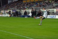 Fotball tippeligaen 290407 Rosenborg - Brann<br /> Marek Sapara setter inn 2-0<br /> Foto: Carl-Erik Eriksson, Digitalsport