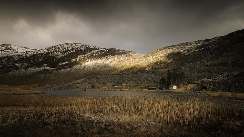 The one bit of light we had in Snowdonia, it didnt quite hit where I was hoping it would, but you can't have everything