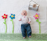 Ayla at three months