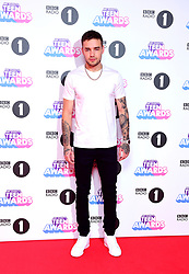 Liam Payne attending BBC Radio 1's Teen Awards, at the SSE Arena, Wembley, London.