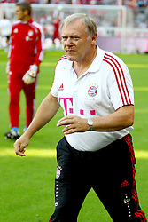 10.09.2011, Allianz Arena, Muenchen, GER, 1.FBL,  FC Bayern vs SC Freiburg, im Bild Hermann Gerland (Co-Trainer Bayern)  // during the  FC Bayern vs SC Freiburg , on 2011/09/10, Allianz Arena, Munich, Germany, EXPA Pictures © 2011, PhotoCredit: EXPA/ nph/  Straubmeier       ****** out of GER / CRO  / BEL ******