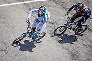 2021 UCI BMXSX World Cup<br /> Round 2 at Verona (Italy)<br /> 1/8 Finals<br /> ^mu#645 OEGEMA, Ynze (NED, MU) Oegema Fieten