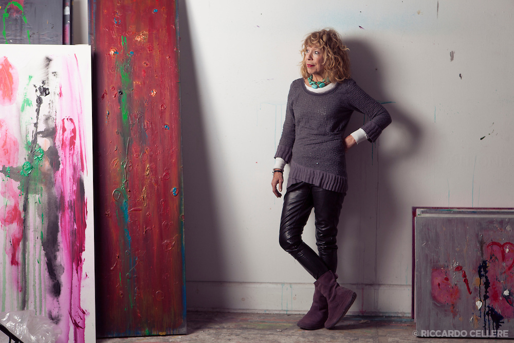 Portait photography. Eileen Katz, Visual Artist. 2013.