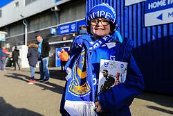 Portsmouth fans outside Fratton Park - Mandatory byline: Jason Brown/JMP - 07966386802 - 30/01/2016 - FOOTBALL - Fratton Park - Portsmouth, England - Portsmouth v AFC Bournemouth - The Emirates FA Cup