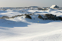 Noordwijkse GC in de sneeuw Hole 8. links 10