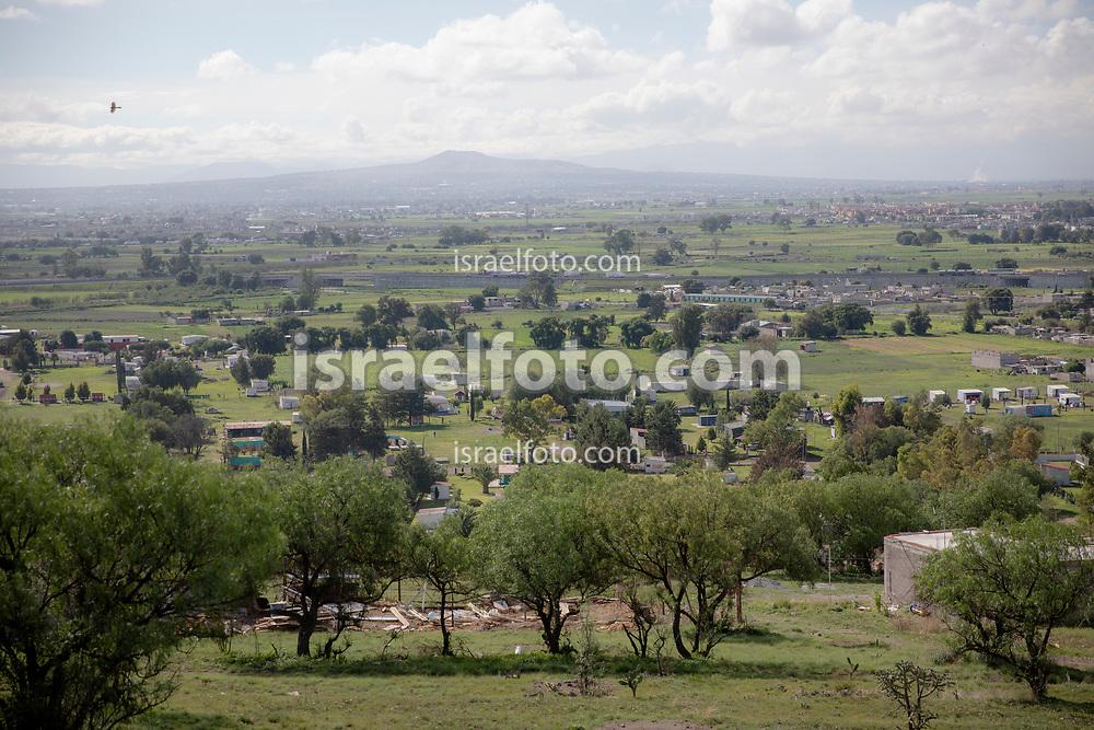 12 junio 2021, Tultepec, México. Zona de talleres pirotécnicos conocida como La Saucera.