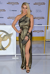 Jessica Simpson attends the premiere of Lionsgate's The Hunger Games: Mockingjay - Part 1 at Nokia Theatre L.A. Live in Los Angeles, CA, USA, on November 17, 2014. Photo by Lionel Hahn/ABACAPRESS.COM    476209_077 Los Angeles Etats-Unis United States