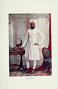 Mohamedan [Mohammedan] Moslem Man in traditional dress Typical Pictures of Indian Natives Being reproduction from Specially prepared hand-colored photographs. By F. M. Coleman (Times of India) Seventh Edition Bombay 1902