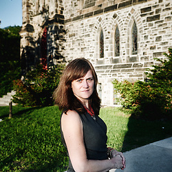 Ottawa, ON, Canada. Jennifer Henry at Christ Church's. She's the Executive Director of Kairos, an ecumenical NGO working on social justice. Photo: Antoine Doyen