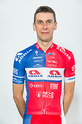 Radoslav Rogina during photo session of Cycling Team KK Adria Mobil, on January 22, 2018 in Novo Mesto, Novo Mesto, Slovenia. Photo by Vid Ponikvar / Sportida