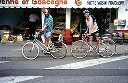 Ben & George With Bicycles
