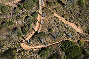 The Land Rover technical terrain during the Prologue of the 2018 Absa Cape Epic Mountain Bike stage race held at the University of Cape Town (UCT) in Cape Town, South Africa on the 18th March 2018<br /> <br /> Photo by Greg Beadle/Cape Epic/SPORTZPICS<br /> <br /> PLEASE ENSURE THE APPROPRIATE CREDIT IS GIVEN TO THE PHOTOGRAPHER AND SPORTZPICS ALONG WITH THE ABSA CAPE EPIC<br /> <br /> {ace2018}