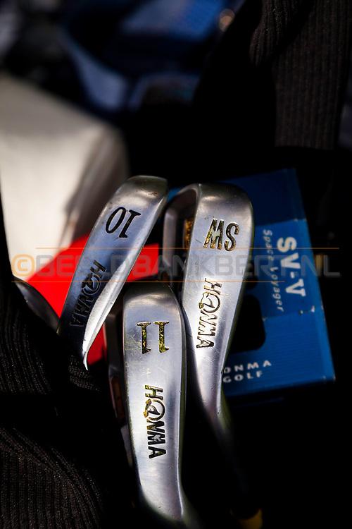 17-09-2015: Beroun Golf Resort in Beroun, Tsjechië.<br /> Foto: Honma ijzers 9, 10 en 11 ???
