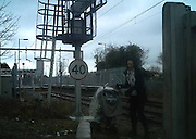 "Mum pictured walking with children next to busy railway lines at Pitsea<br /> <br /> THESE shocking images show amother and toddler perilously close to a busy railway line at Pitsea.<br /> <br /> BTP officers are set to carry out increased patrols to try to ward off trespassers who think the track is a place to hang out or to commit vandalism.<br /> <br /> Between April and June, 2,400 incidents of people trespassing on the railway were reported to police.<br /> <br /> Insp Mark Hook, who covers Essex for the BTP, said: ""It's an issue in south Essex at this time of year, where children go on the lines for amusement or other means. Every school in south Essex has received a letter from me explaining that we will be out there.<br /> ""This operation is not about criminalising young people, but about raising awareness.""<br /> <br /> More than half cases British Transport Police were called to in the first three months of the year involved people aged 25 or younger.<br /> ©BTP/Exclusivepix"