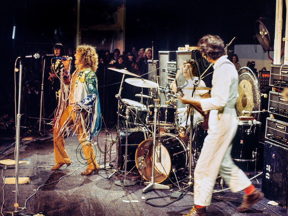 The Who - Isle of Wight Music Festival 1970, by Charles Everest.